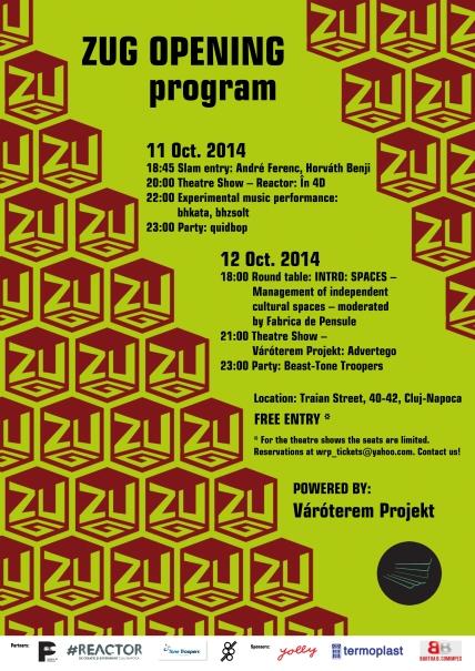 ZUG opening